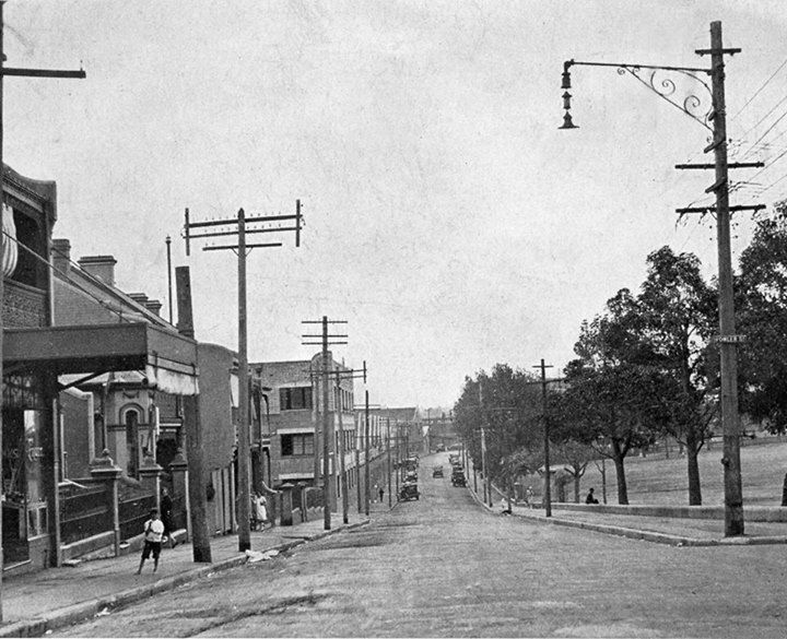 Newtown, cnr Australia Street & Fowler Streets, 1930s. City of Sydney Archives