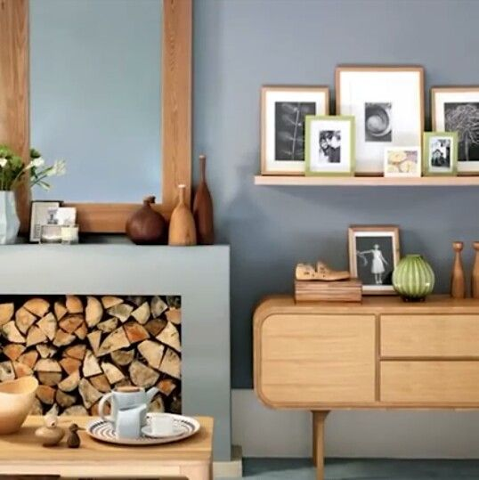 36 besten Wandfarbe BRAUN brown Bilder auf Pinterest Wandfarbe - wohnzimmer orange grau