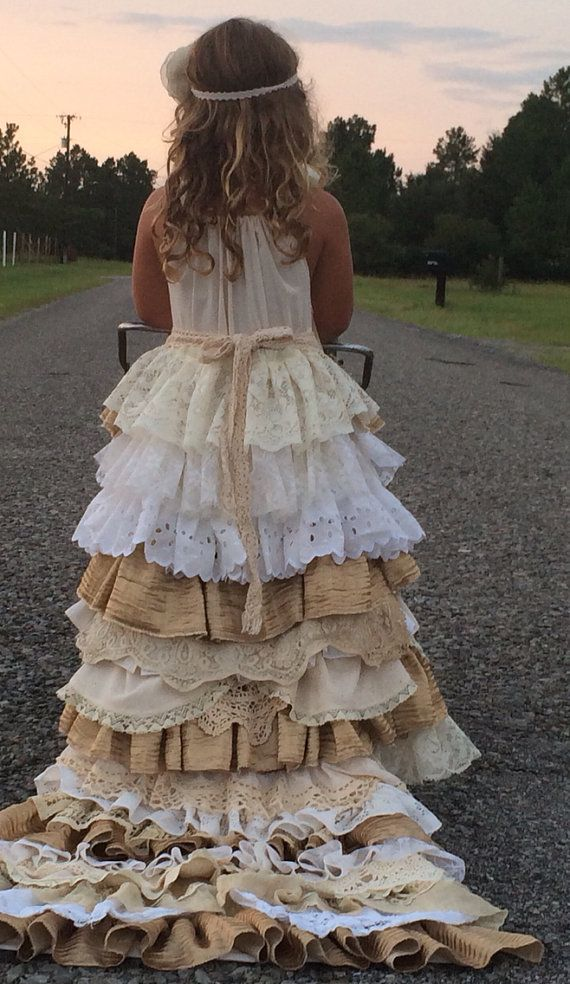 ADD a train to your dress, vintage flower girl dress with a train, custom made, one of a kind, detachable train on Etsy, $100.00