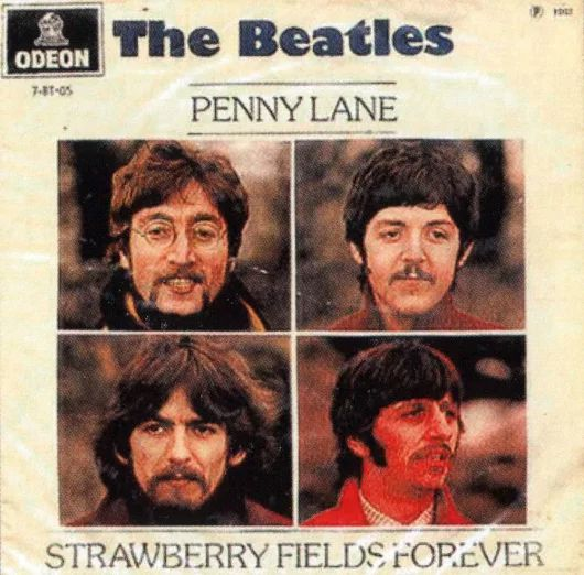 """24th November 1966 : """"Strawberry Fields""""  The Beatles got together for the first time since their return from the summer tour of the United States, ready to record a new album. The first song selected for recording was John Lennon's 'Strawberry Fields Forever', which would end up on the album, but on The Beatles' next single. This day's session was devoted entirely to 'Strawberry Fields Forever.'"""