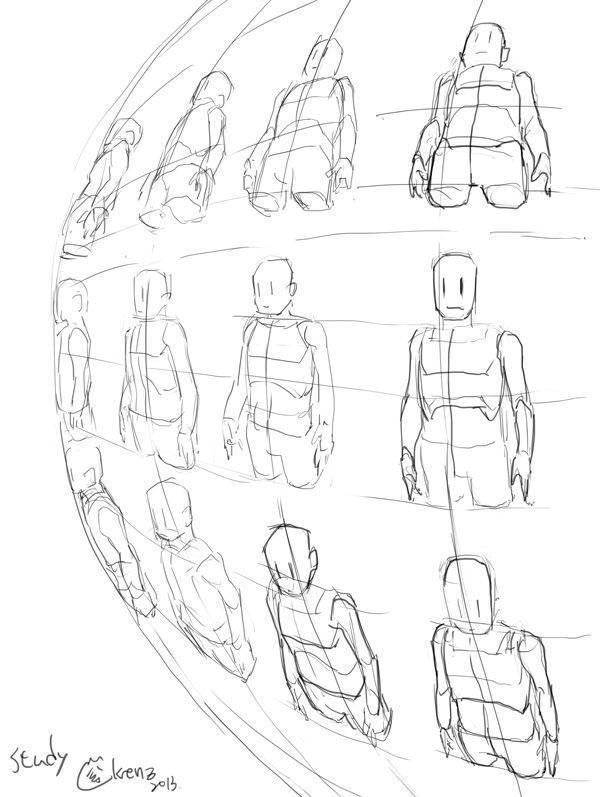 Perspective bodys tutorials  P.S. /(   . _.)