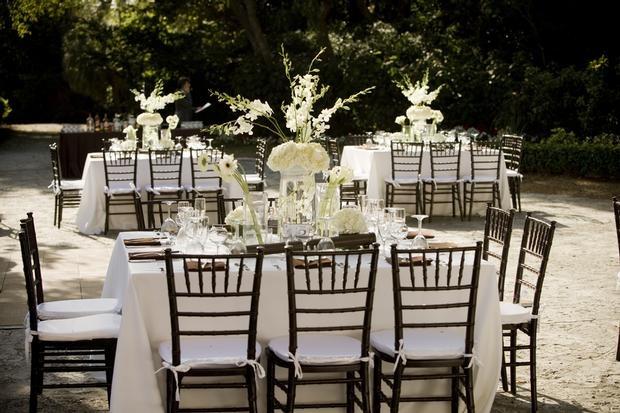 Mahogany Chiavari Chairs Wedding