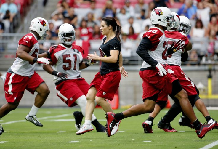 Newsela | It's a first for the NFL's Cardinals: a woman as inside linebackers' coach