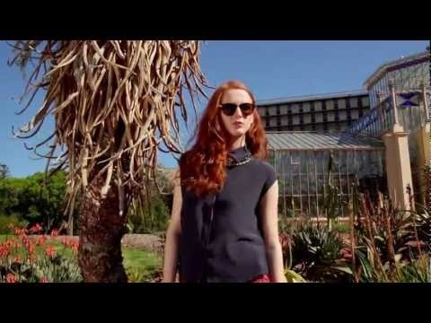 "The amazing ""Cactus Gardens"" in the ""Adelaide Botanic Gardens"" is a stunning backdrop for this visually rich photoshoot from Fiona McGuinness. The colours of the Cactus gardens create an out of this world effect and highlight the summer shoe collection beautifully. Sandals and Wedges on an alien terrain."