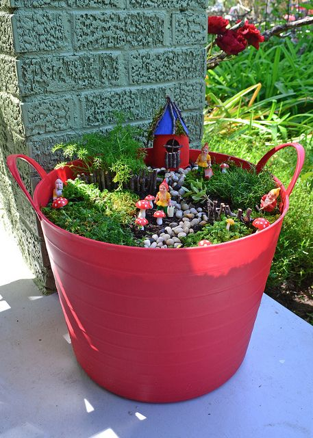 725 Best Images About Fairy Gardens On Pinterest