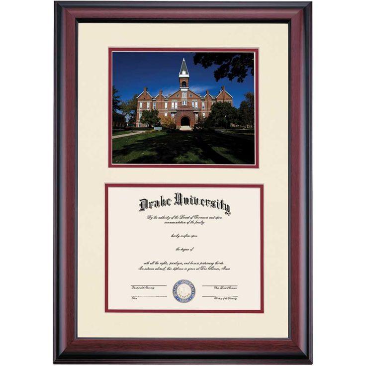 drake collegiate old main photograph diploma frame drake university drake university diploma frames ocm