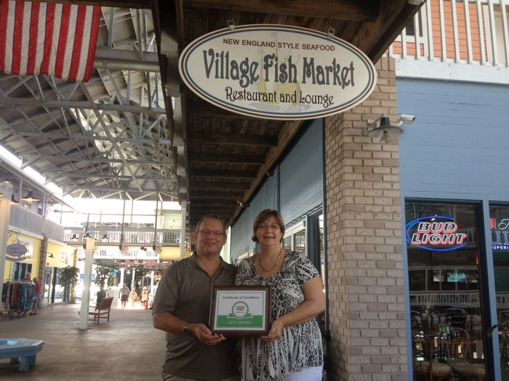 Congrats to nick and sue randall owners of the village for Village fish market