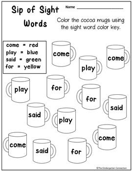 Freebie! Kindergarten math and literacy - 4 pages from January Print-That's it!