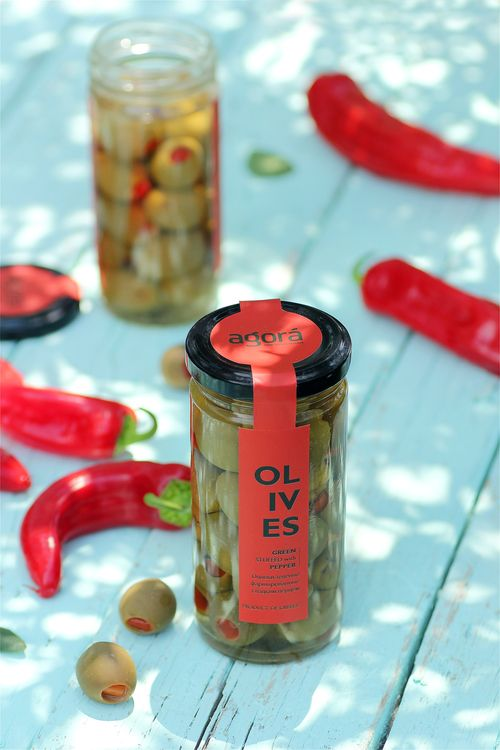 Agora Greek Olives & Pastes #packaging
