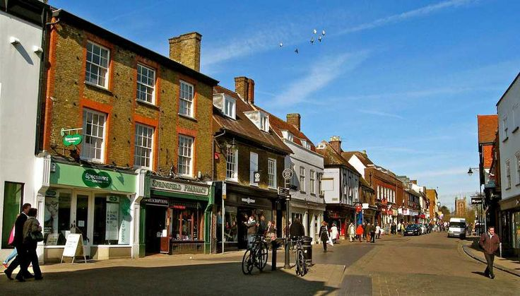 Arrive Wednesday or Saturday at this historic Hertfordshire city for the bustling St. Peter's Street market, then head to the cavernous cathedral. St. Albans, England