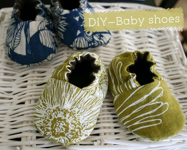 {DIY} Baby shoes- I haved made shoes with this pattern before and it turned out super cute!