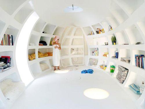 Egg house pod: The Blob, Living Spaces, Storage Design, Gardens House, Design Studios, Blobvb3, Architecture Firming, Mobile, Blob Vb3