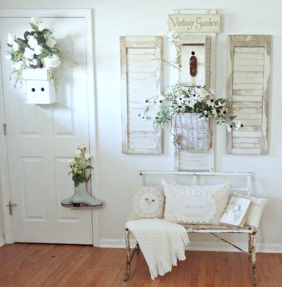 25 Charming Shabby Chic Living Room Decoration Ideas: Best 25+ Shabby Chic Entryway Ideas On Pinterest