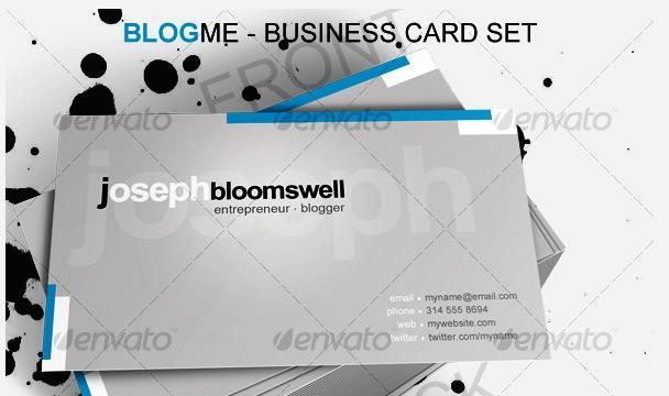 Desain Kartu Nama Perusahaan - Blog Me Business Card
