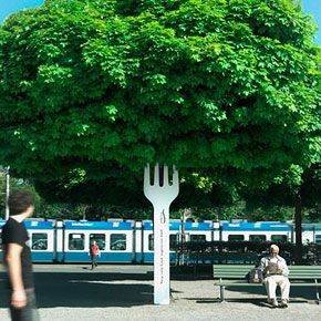 A collection of the best 40 bus stop advertisements. Truly genius