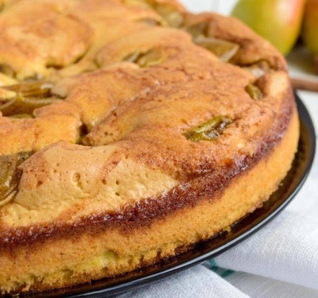 **Hruškový koláč