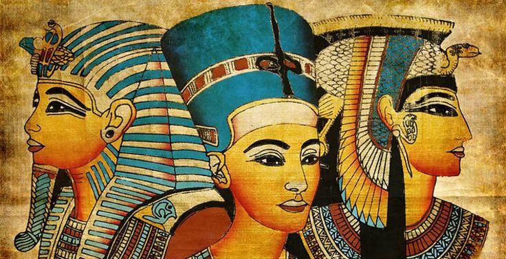 """Макияж, каким мы знаем его сегодня, возник в Древнем Египте. В поисках рецепта бальзамирования египтяне открыли великое множество косметических средств. Их же стоит поблагодарить за идею использования растительных масел для ухода за телом. Уже во времена Нефертити существовал набор """"must have"""" - губная помада, румяна, подводка для глаз и бровей. Подводка защищала глаза от песка и пользовались ею как мужчины, так и женщины. К этим же временам относится и окрашивание волос хной и басмой."""
