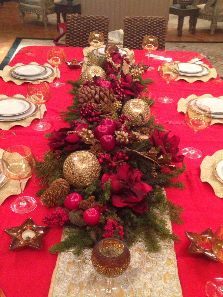 Mi casa en navidad comida tanda