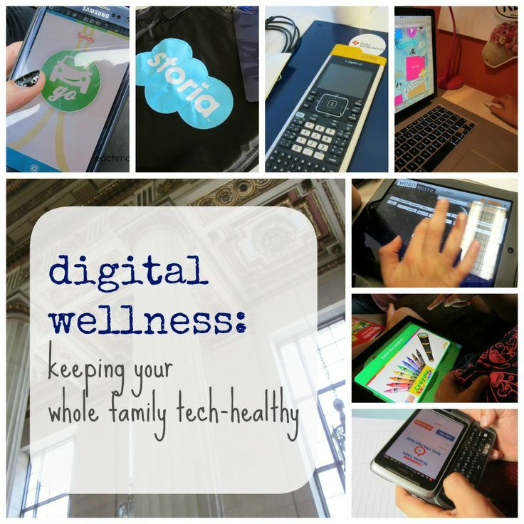 how do YOU keep your whole family tech-healthy? (yourself included!)