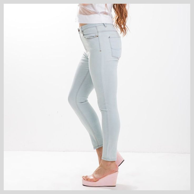 Find More Information about 2015 Plus Size Women Ripped Jeans Fall&Winter Mid Waist Stretch Slim Skinny Denim Jeans Legging Female Trousers Pants 15 5212,High Quality clothing cost,China clothing made in nepal Suppliers, Cheap clothing for top heavy women from Kamy Larger-Size Home on Aliexpress.com