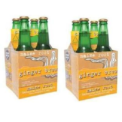 Maine Root Ginger Brew (6x4pack )