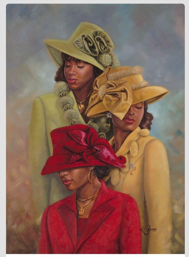 Elegance.  True beauty of African American women.