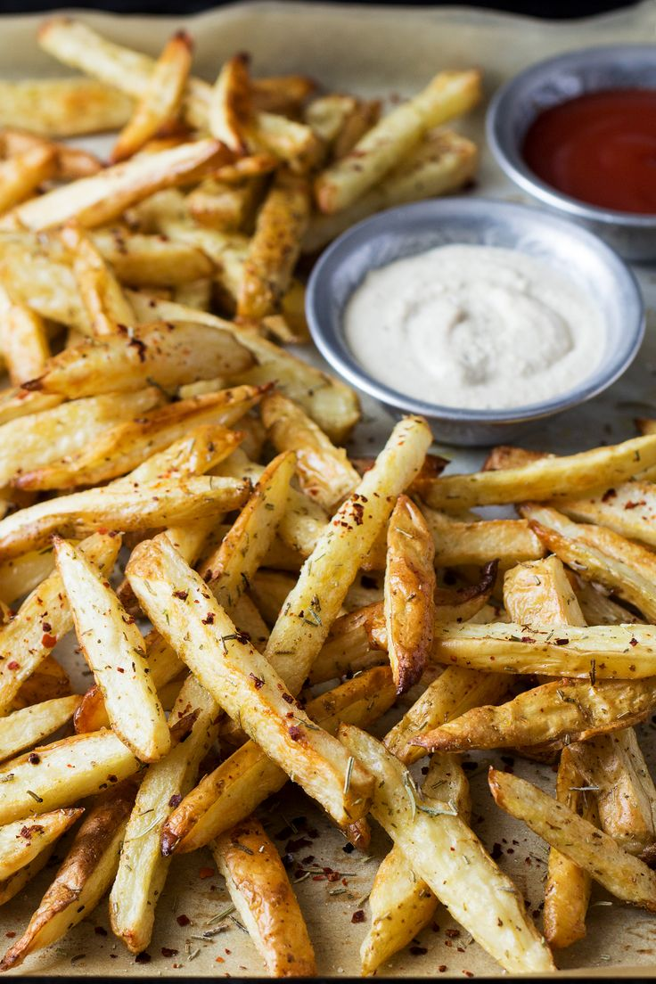 rosemary fries sideview