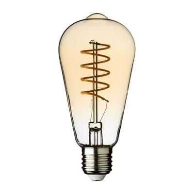 Ampoule Vintage, filament led en spirale, 4 Watt