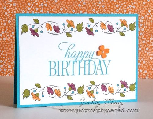 Best birthday cards stampin up images on