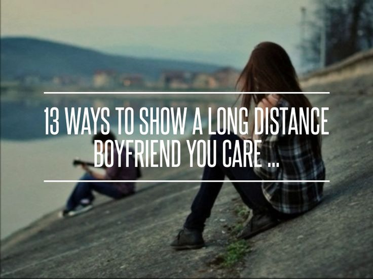 How to show someone you love them long distance