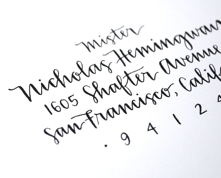 1000 Ideas About Handwritten Calligraphy Fonts On
