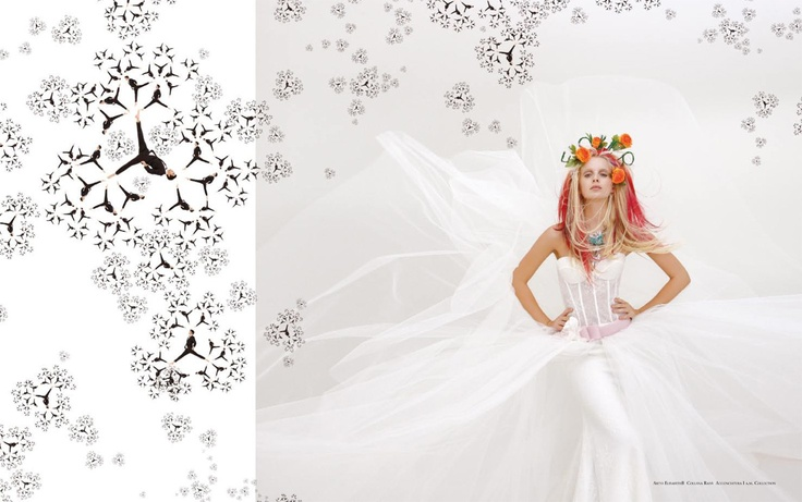 Servizio di Cristina Canovi - Ph. Cosimo Buccolieri - #bridal #flower #white #fashion www.whitemagazine.it
