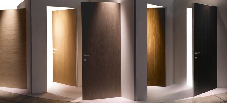 Doors of with Alpidoor, the panel of wood for doors producing