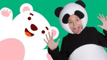 http://video-kid.com/11062-title.html  Три медведя - развивающий музыкальный развлекательный детский проект про трех друзей - Медведей: Белого мишку, Панду и Бурого мишку. Они такие разные - Бурый и Белый медведи любят холод и снег, а Панда любит жару. И у каждого - свои вкусы. Медведи веселятся и танцуют, поют детские песенки про друзей, семью, праздники и угощения.И все эти замечательные песни мишек мы объединили в один сборник из 6 песен:Маленькие…