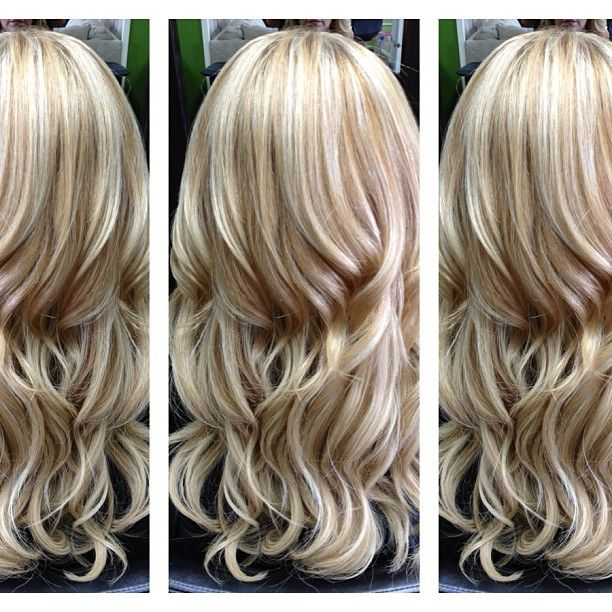blonde with light caramel pieces