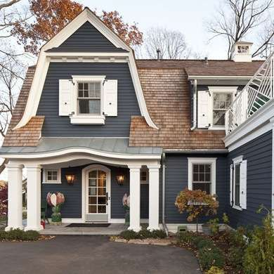 Best 25+ Navy house exterior ideas on Pinterest | Blue house white ...