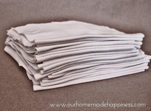 Our Homemade Happiness: Homemade Reusable Paper Towels, great idea! :)