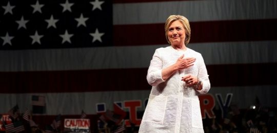 Hillary Clinton presidents kandidaat vs
