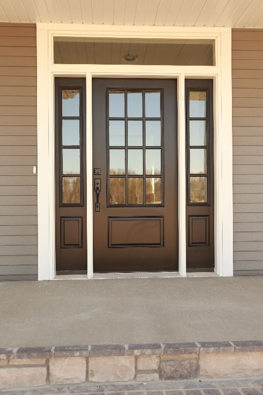 17 best ideas about fiberglass entry doors on pinterest for Front door with large window