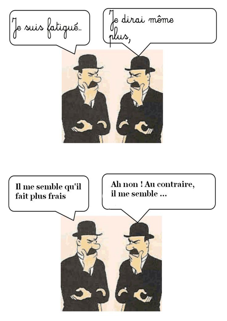 Les synonymes a la maniere des dupont et dupond sp cial dupont et dupond - En matiere de synonyme ...