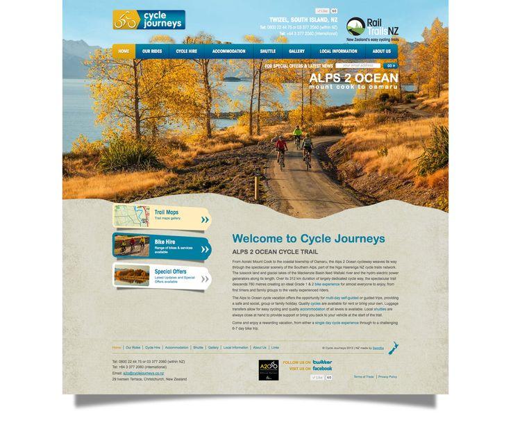 Cycle Journeys, Alps to Ocean, Twizel, South Island. http://www.cyclejourneys.co.nz/