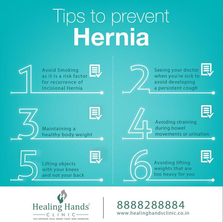 Tips to prevent Hernia! https//www.healinghandsclinic.co