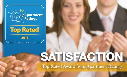 We are honored to be named one of Apartment Ratings' 2013 Top Rated award winners!