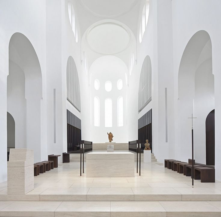 Fancy Gallery of Interior Remodeling of St Moritz Church John Pawson