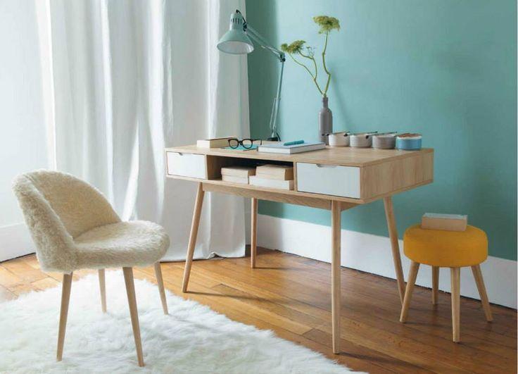die 25 besten ideen zu hocker mit fell auf pinterest. Black Bedroom Furniture Sets. Home Design Ideas