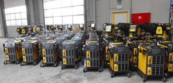 Public Employment Service Purchases 50 Esab Welding Machines