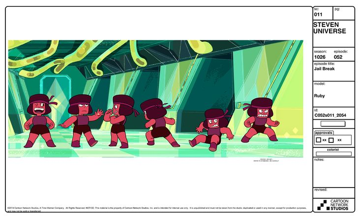 Steven Crewniverse Behind-The-Scenes Universe: A selection of Characters, Props, and Effects from...