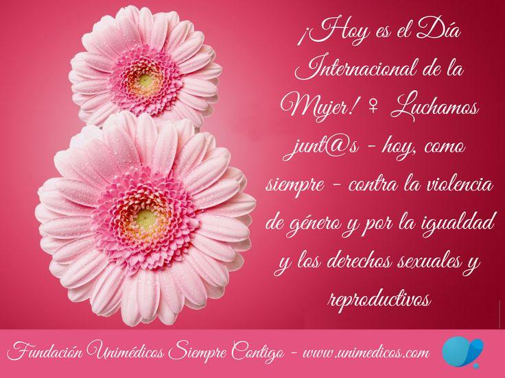 #FundaciónUnimédicos #DiaInternacionalDeLaMujer #FelízDíaDeLaMujer #WomensDay #Mujeres #vision4abortion