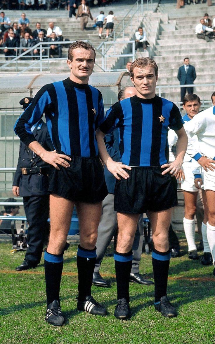 """Brothers : Alessandro """"Sandro"""" Mazzola (FC Inter Milan, 1960–1977, 417 apps, 116 goals) and Ferruccio Mazzola (FC Inter Milan, 1963-1964, 0 apps, 0 goal + 1967, 1 apps, 0 goal), 1967."""