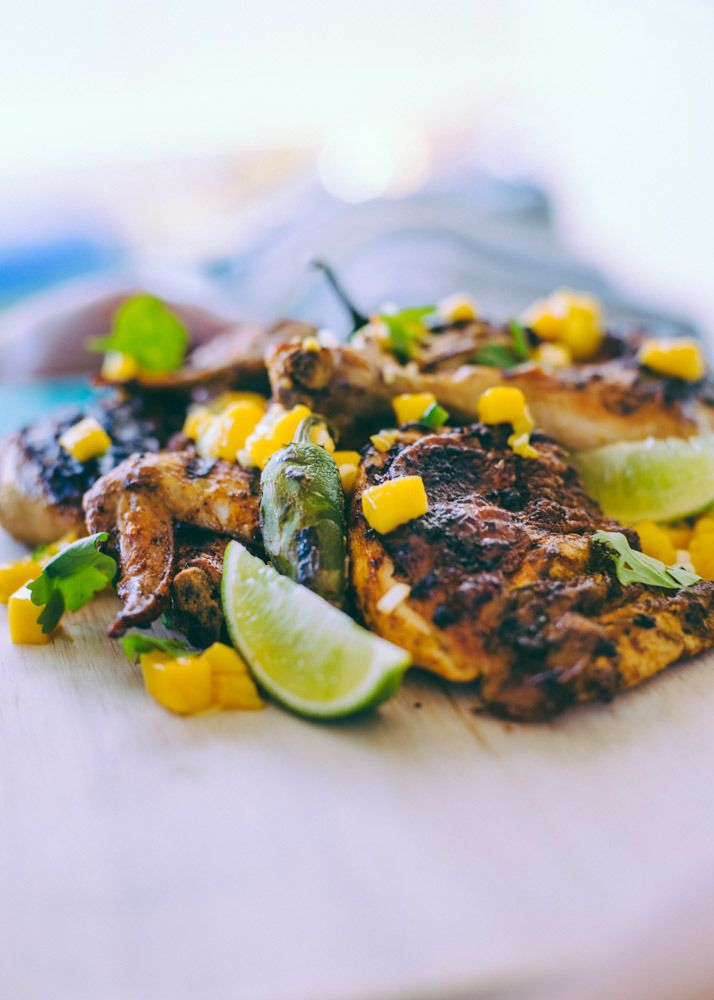 Inspired Food - Summery Mexican Chicken